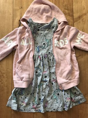 H&M Unicorn Dress and Hoodie for Sale in Ontario, CA