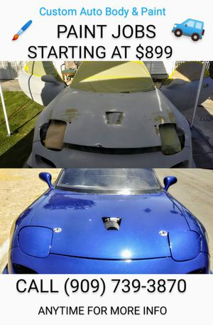 Front bumper Mazda rx7 93' auto body parts for Sale in Denver, CO