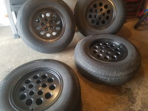 Rims for jeep cheroke liberty old wranglers for Sale in Chicago, IL