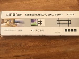 """New Still In The Box 39""""-70"""" TV WALL MOUNT BRACKETS (hold up 140Ibs)pick up Baldwin park or downtown store for Sale in Baldwin Park, CA"""