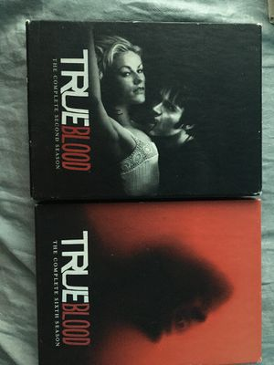 True Blood Complete 2nd and 6th season for Sale in Saranac, MI