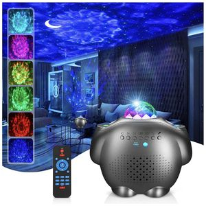 Star Projector, Night Light Projector 4 in 1 Galaxy Projector Ocean Wave Projector with Bluetooth Music Speaker for Baby Kids Bedroom/Party Decoration for Sale in Union City, CA