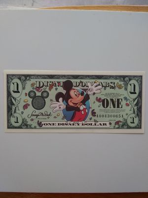 2000 $1 Disney Dollar. for Sale in Wichita, KS