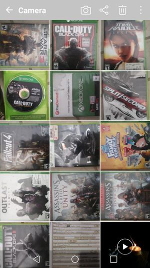 Xbox one xbox original and 360 games for Sale in Las Vegas, NV