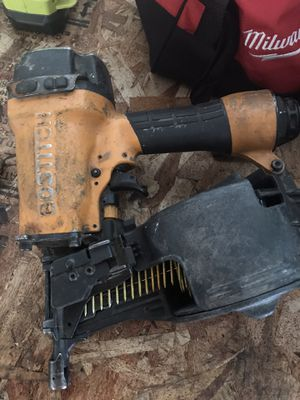 Bostitch siding nailer and nails for Sale in Vancouver, WA