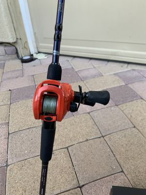 Concept Z fishing reel and fishing pole negotiable for Sale in Spring Valley, CA
