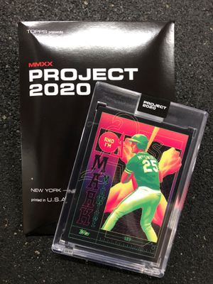 TOPPS Project 2020 Mark McGwire by Matt Taylor for Sale in ROWLAND HGHTS, CA