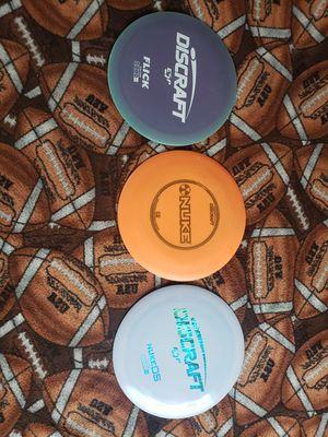 Discraft three disc lot for Sale in Bremerton, WA
