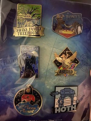 Disney limited release pin set D23 for Sale in Armonk, NY