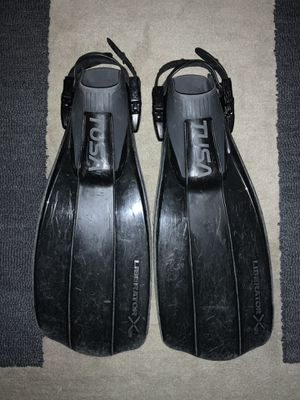 Tusa Liberator X Ten Scuba Fins Black, Size Small for Sale in Chicago, IL