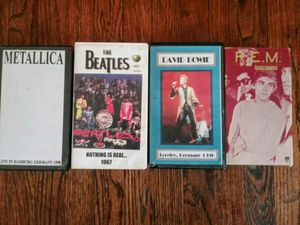 4 vintage bootleg vhs tapes for Sale in Pomona, CA