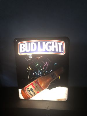 Rare bud light sign for Sale in Asheboro, NC