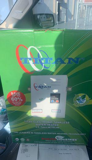 N-85 titán tankless water heater for Sale in Hialeah, FL
