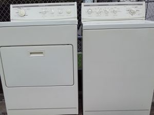 BEAUTIFUL SUPER CAPACITY WASHER DRYER SET for Sale in Riviera Beach, FL