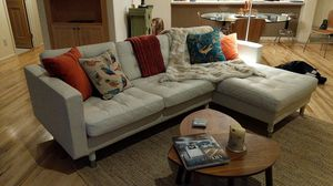 Beautiful leather sofa for Sale in Evergreen, CO