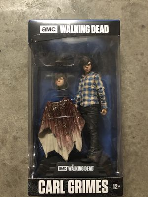 """Mcfarlane Toys AMC The Walking Dead Carl Grimes 7"""" Action Figure #15 Color Tops for Sale in Oceanside, CA"""