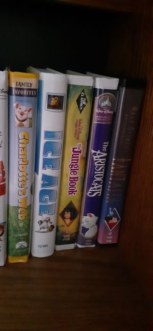 vcr disney movies for Sale in Dallas, TX