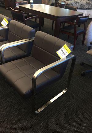 Office Chairs ( Dark Brown) for Sale in Norfolk, VA