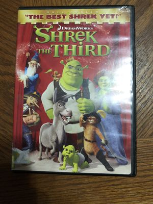 Shrek the third dvd for Sale in Phoenix, AZ