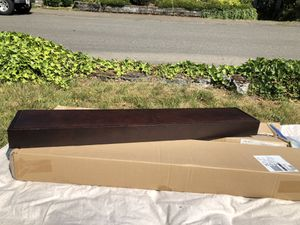 Two Crate & Barrel floating wall shelves for Sale in Olympia, WA