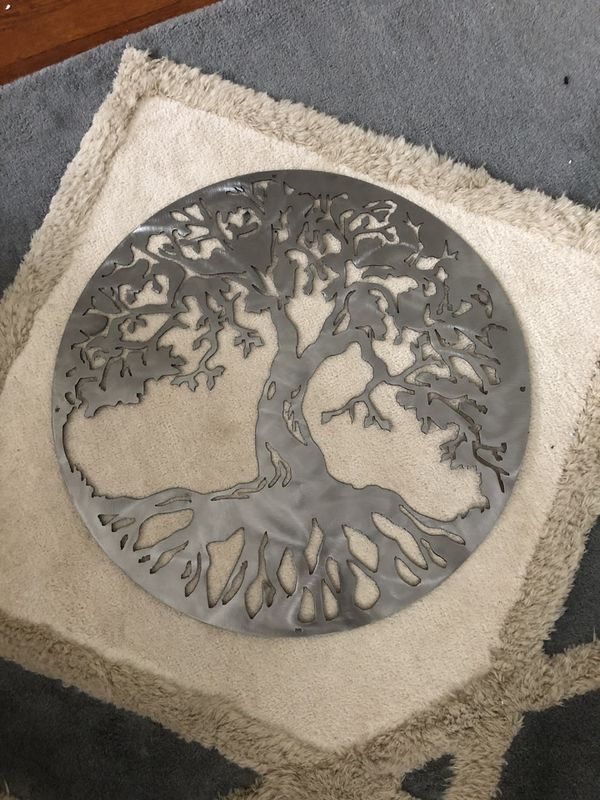 Metal Tree of Life Wall Art