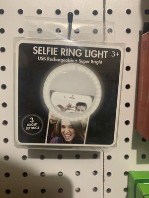 Selfie ring light for Sale in San Antonio, TX