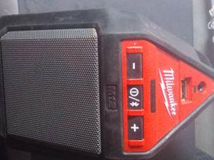Milwaukee Bluetooth Work Speaker for Sale in San Antonio, TX