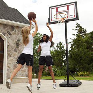 Lifetime Adjustable Portable Basketball Hoop(Basketball included) for Sale in Doraville, GA