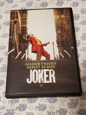 Joker DVD with Bonus Disc for Sale in Fort Worth, TX