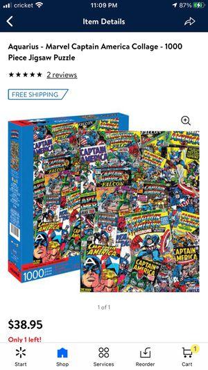 Marvel Captain America puzzle NEW for Sale in Visalia, CA