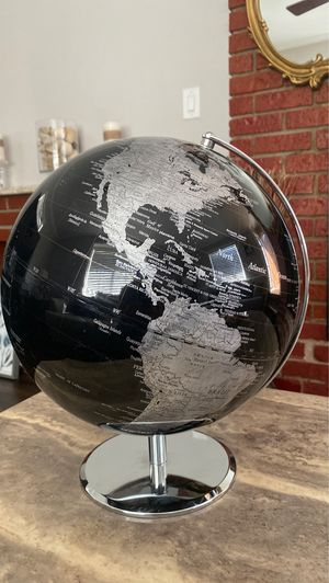 Earth globe (black) from Z gallerie for Sale in Lynwood, CA