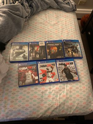 PS4 GAMES FOR CHEAP! for Sale in Glendale Heights, IL