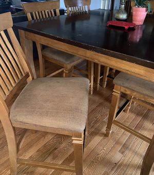 Dining table with six chairs for Sale in Sterling, VA