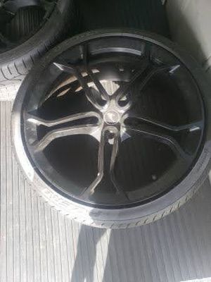 McLaren light weight wheels n tires for Sale in Boston, MA