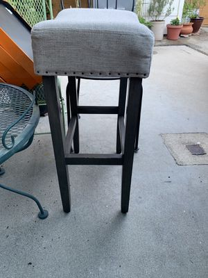 "Bar Stool * very comfy* 3 for 30$ or one for 14$ 18x12"" 29""H for Sale in Montrose, CA"