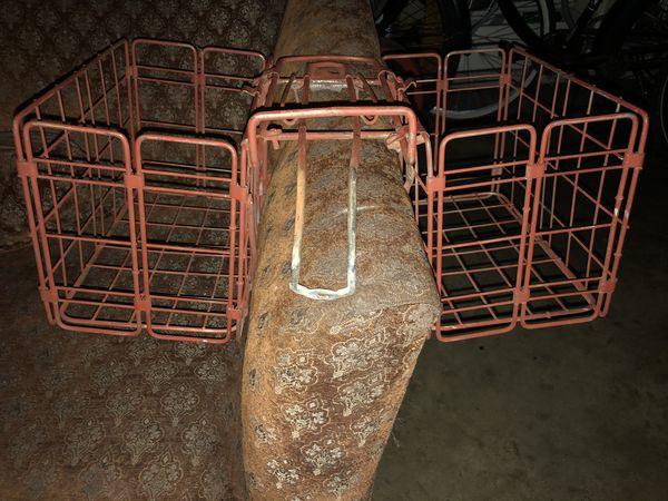 Back seat bicycle basket