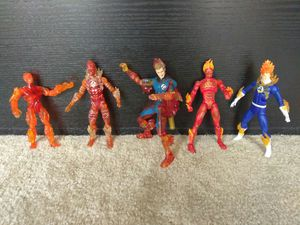 PICK YOUR FAVORITE VERSION OF HUMAN TORCH ACTION FIGURE for Sale in Alameda, CA