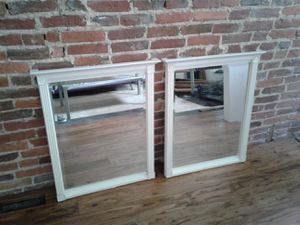 """2 MATCHING 26""""x31"""" BEVEL EDGE MIRRORS for Sale in Baltimore, MD"""