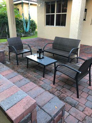 Patio set for Sale in Weston, FL
