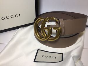 Gucci Dusty Pink Leather Belt Authentic for Sale in Queens, NY