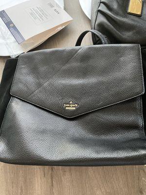 kate spade ♠️ genuine hand bag black leather for Sale in Liberty Lake, WA