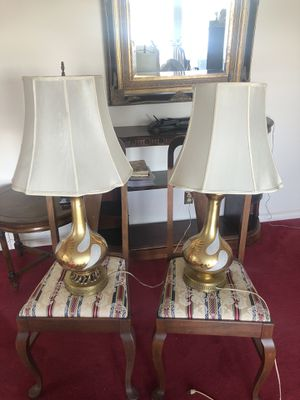 Antique gold lamps for Sale in Bellevue, WA