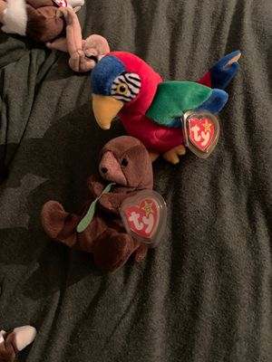 Original beanie babies seaweed and jabber for Sale in Newport News, VA