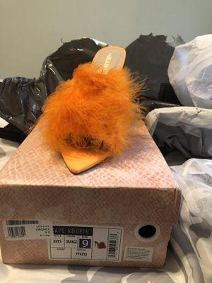 Cape Robbin faux fur heels for Sale in Reisterstown, MD
