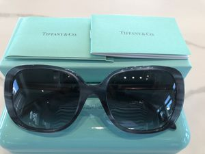 Tiffany Sunglasses .. Beautiful blue frame with Swarovski crystal accent on frame. for Sale in Sarasota, FL