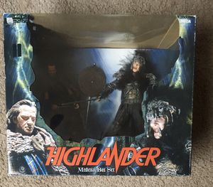 Neca Highlander 2 Figure Box Set for Sale in Redford Charter Township, MI