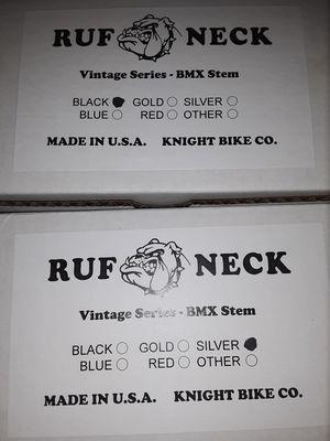Ruf neck bmx stems for Sale in Anaheim, CA
