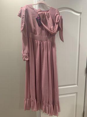 Elegant pink dress size M-L for Sale in Fairfax, VA