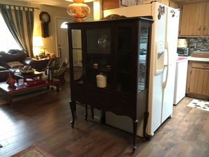 Antique china cabinet for Sale in Alexandria, VA