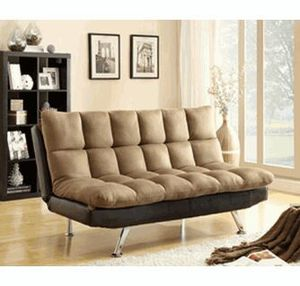 2 Tone Futon Sofa Bed (new) for Sale in Hayward, CA
